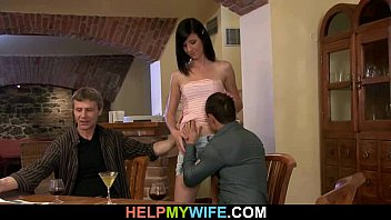 by my watching wife creampied stranger Drunk wife fucks friend