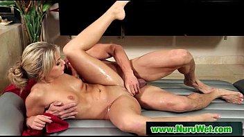 handjob massage ball femdom Mother wanking her son