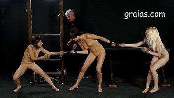 nude lashes fight girls Camara oculta trios4