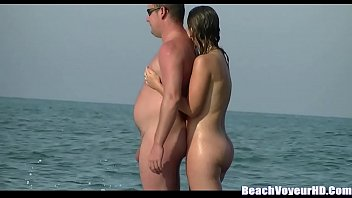 nudist boner huge couple straight beach on Czech casting anicka