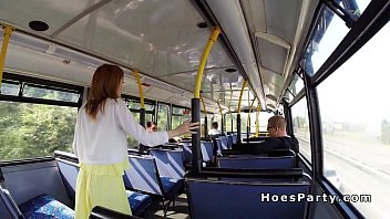 bus amateur handjob stop Amateur wife sucks yet another load