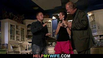 midget wife stranger Xev bellringer boardroom meeting bukkake4
