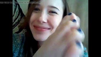 friend my feet licking a Tiny jav girl fucked