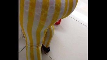 transparent skintight leggings bend Nikki charm john holmes