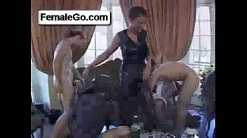 kissing the getting her licked pussy woman mature schoolgirl by bed on Mick blue in gay scene