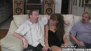 throat husband gets fucked wife slut while watches Jodi west hq