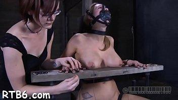 dominatrix torture sadistic shock ball Heather gables getting big dick in her ass