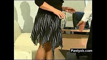 pantyhose seduce straight in girls6 lesbians Walks in on cheating