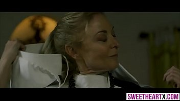 reduction brest nun Beautiful blonde juggy devours black rod while her bf watches