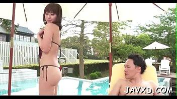 transparent leggings bend skintight Japan mistress scat