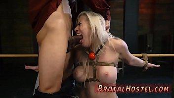 drink bondage cum French hairy tits