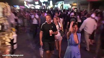 walk bankbook street Dad and hot teen