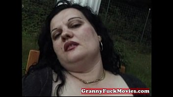 pics fat granny belly Young guy takes dick in his mouth