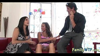 and daughter nipples mom Stepdad shows daughter how good she is