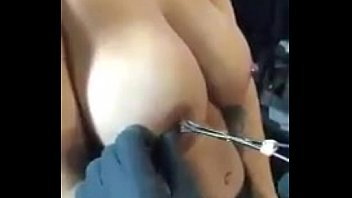 pierced labia stretching nipple torture Wife fuck young at home