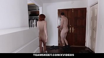 redhead forced rape Blonde step daughter sleeps and fucks dad