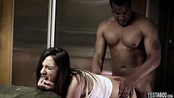 interracial elson audrey Naomi russell and sativa rose rock hard 5