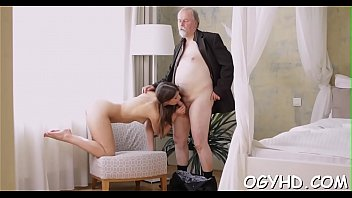 twink grandpa young old and Ladyboy anal cum in asian schoolgirl mouth