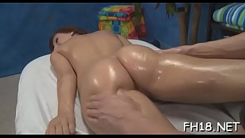 stimulation performs oral girl Neighbor visit old young