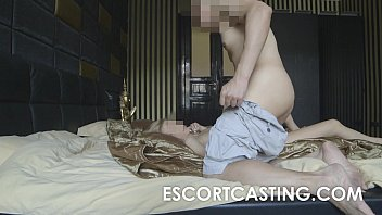 hairy casting anal Eat cum out of each others ass