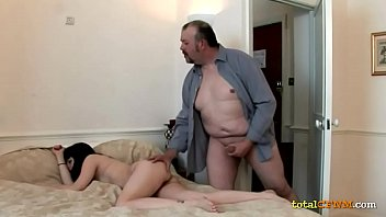 hubby gets handjob lazy a Father forces cum in daughters vagina